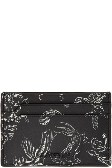 Lanvin - Black Koi Card Holder