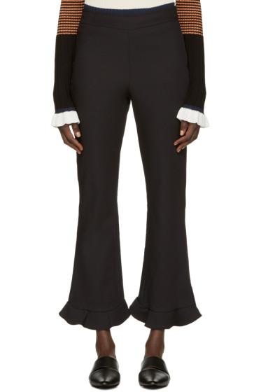 Opening Ceremony - Black William Circle Hem Trousers