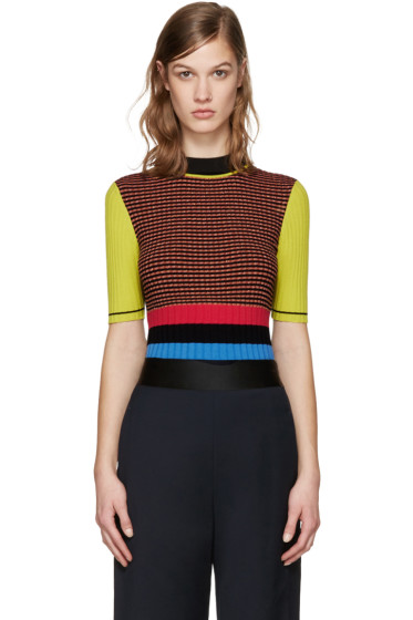 Opening Ceremony - Multicolor Striped Turtleneck