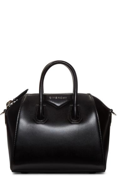 Givenchy - Black Mini Antigona Bag