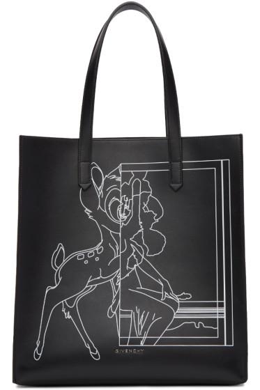 Givenchy - Black Medium Bambi Stargate Tote