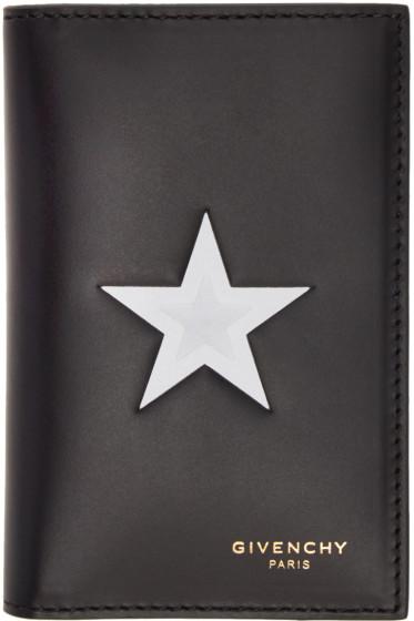 Givenchy - Black Star Card Holder