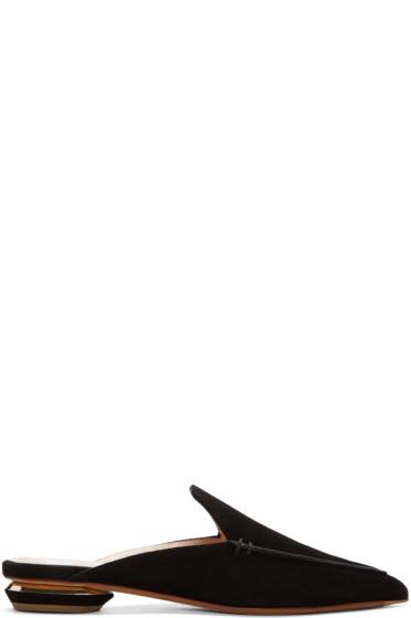 Nicholas Kirkwood - Black Beya Slip-On Loafers