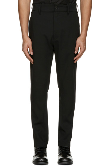 Ann Demeulemeester - Black Classic Trousers