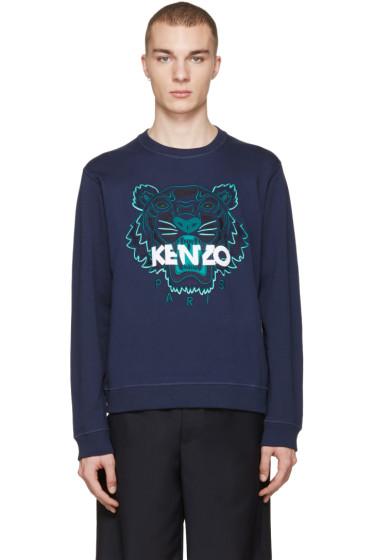 Kenzo - Navy Tiger Pullover