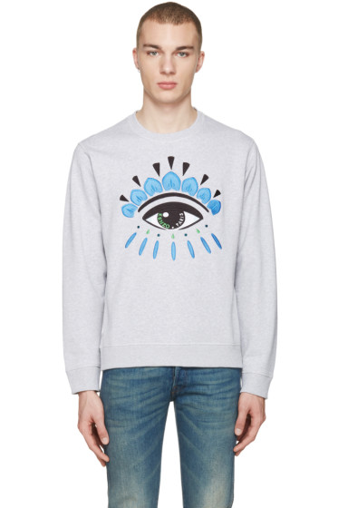 Kenzo - Grey Eye Pullover