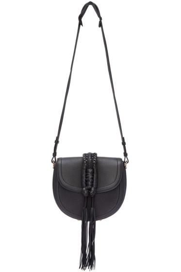 Altuzarra - Black Ghianda Knot Saddle Bag