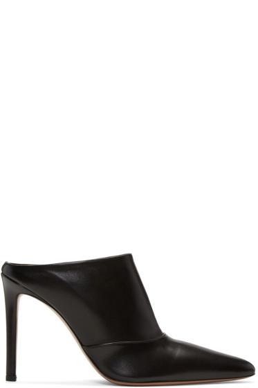Altuzarra - Black Davidson Mule Heels