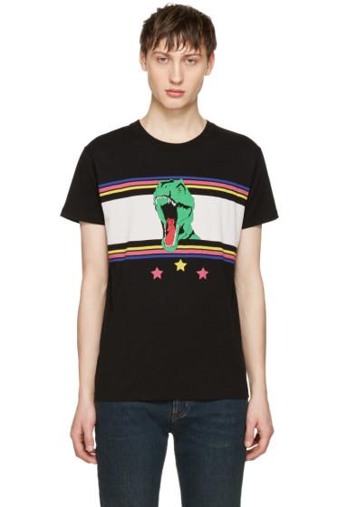 Saint Laurent - Black T-Rex T-Shirt
