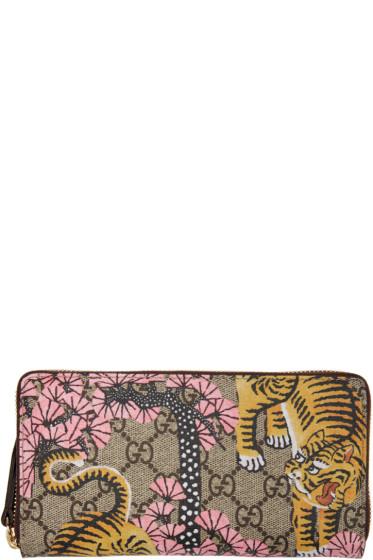 Gucci - Multicolor Bengal Zip Wallet