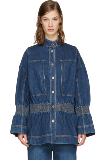 Stella McCartney - Blue Denim City Jacket