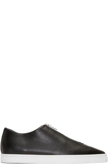 Stella McCartney - Black Medusa Zip Sneakers