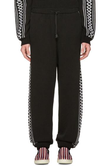 Stella McCartney - Black Rustic Sportswear Lounge Pants