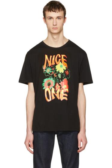 Stella McCartney - Black 'Nice One' T-Shirt