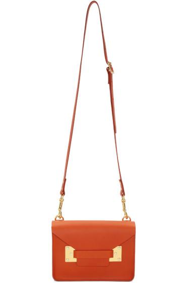Sophie Hulme - Orange Mini Milner Crossbody Bag