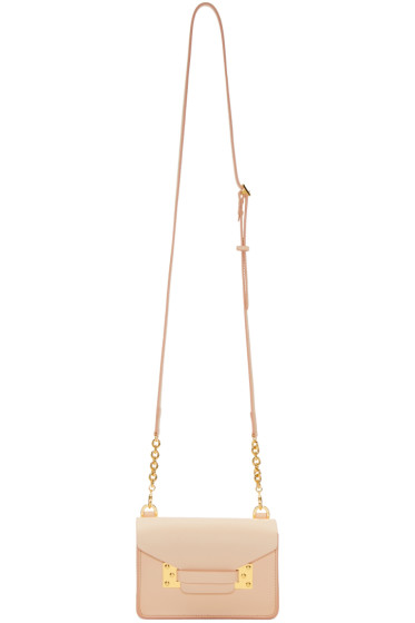 Sophie Hulme - SSENSE Exclusive Pink Nano Milner Crossbody Bag