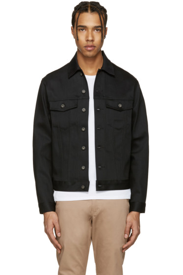 Naked & Famous Denim - Black Denim Power Stretch Jacket