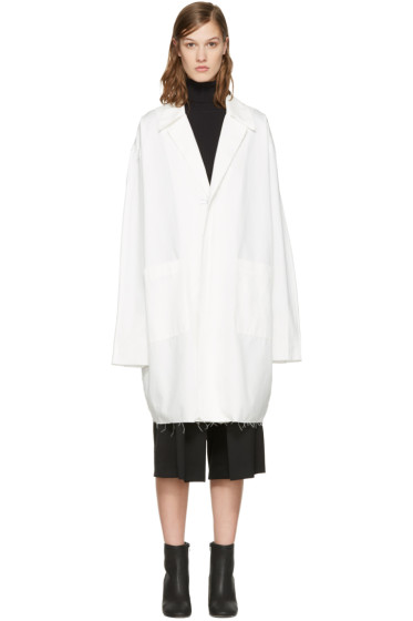 Off-White - White Work Coat