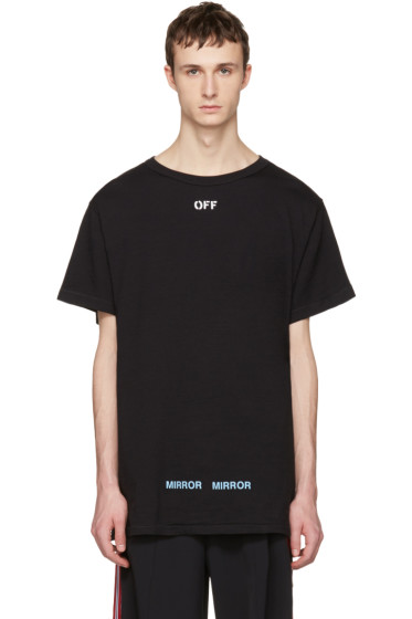 Off-White - Black Care 'Off' T-Shirt