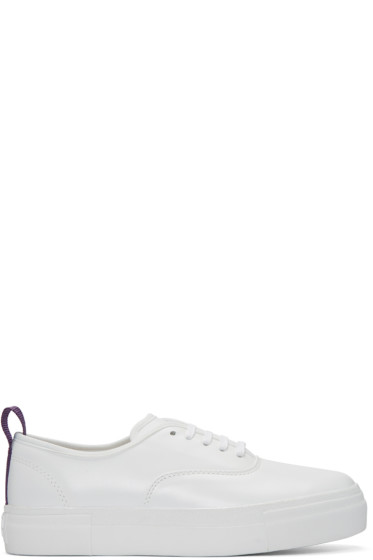 Eytys - White Leather Mother Sneakers