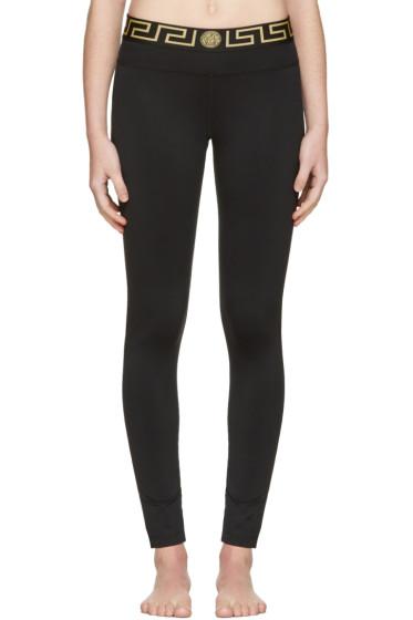 Versace Underwear - Black Medusa Leggings