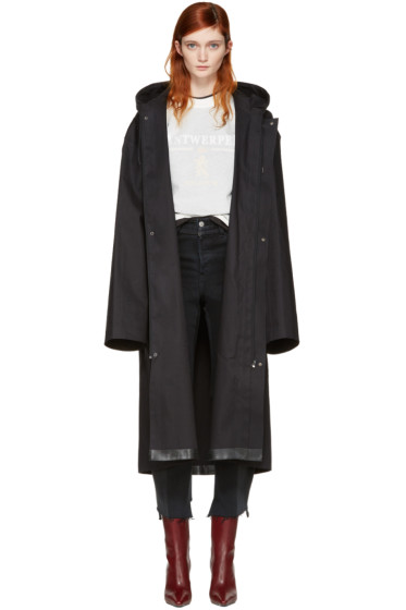 Vetements - Black Mackintosh Edition Oversized Rain Coat