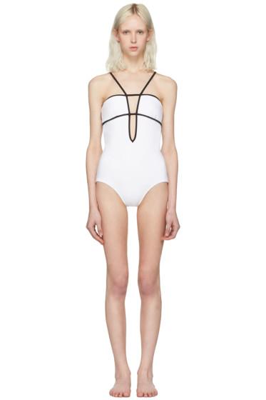 Araks - White & Black Harlow Swimsuit