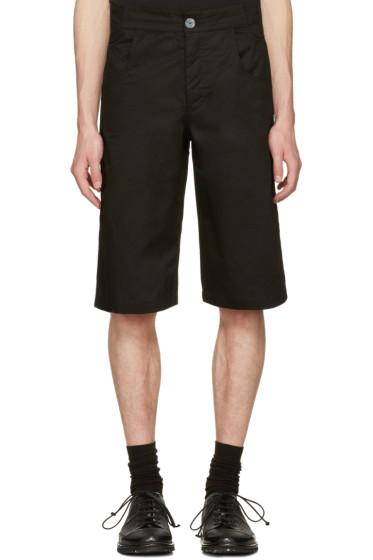 Telfar - Black Pockets Shorts