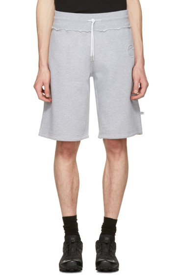 Telfar - Grey 'Customer' Lounge Shorts