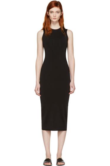 Victoria Beckham - Black Ribbed Dress