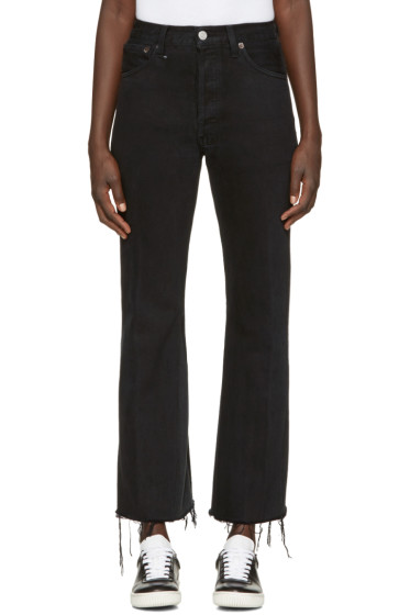 Re/Done - Black The Leandra Jeans