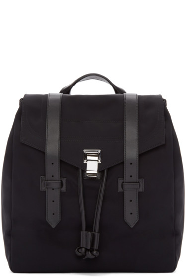Proenza Schouler - Black Nylon PS1 Backpack