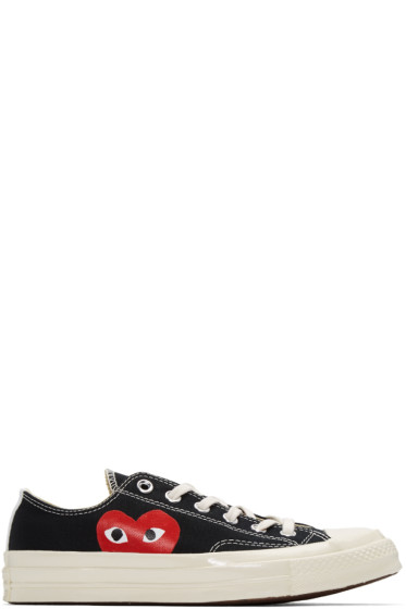 Comme des Garçons Play - Black Converse Edition Low-Top Sneakers