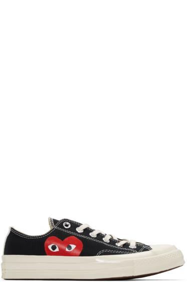 Comme des Garçons Play - Black Converse Edition Low-Top Sneakers