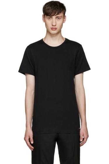 Calvin Klein Underwear - Three-Pack Black Slim-Fit Undershirt