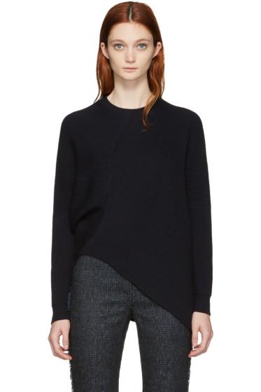 Stella McCartney - Navy Clean Rib Sweater