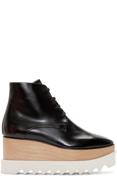 Stella McCartney - Black Platform Elyse Boots