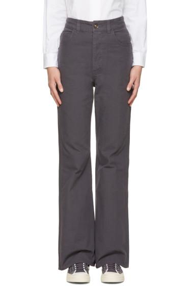 Visvim - Navy High-Rise Trousers