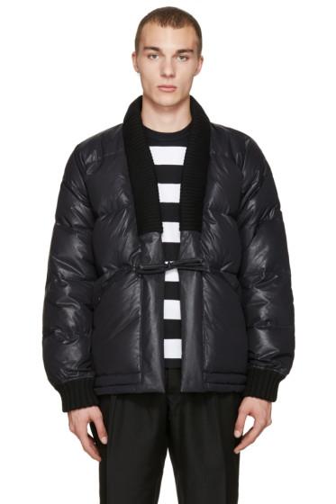 Visvim - Black Down Dotera Coat