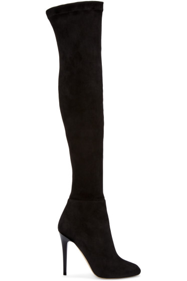 Jimmy Choo - Black Turner Tall Boots