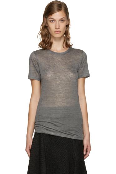 Isabel Marant - Grey Madras T-Shirt