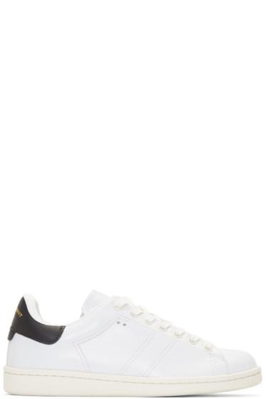 Isabel Marant - White Bart Sneakers