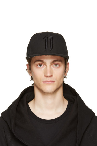 11 by Boris Bidjan Saberi - Black Logo Cap