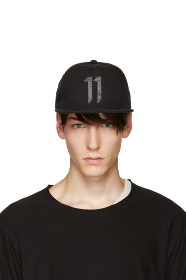 11 by Boris Bidjan Saberi - Black Logo 11 Cap