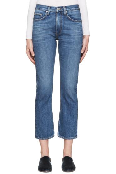 Brock Collection - Indigo Wright Jeans