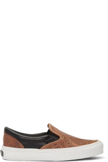 Vans - Brown Taka Hayashi Edition OG Classic Sneakers