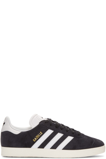 adidas Originals - Black OG Vintage Gazelle Sneakers