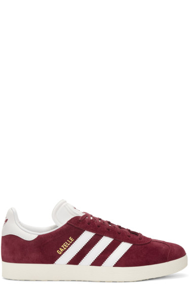 adidas Originals - Burgundy OG Vintage Gazelle Sneakers