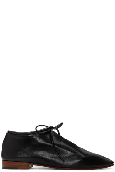 Martiniano - Black Bootie Oxfords