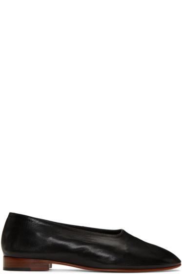 Martiniano - Black Glove Ballerina Flats